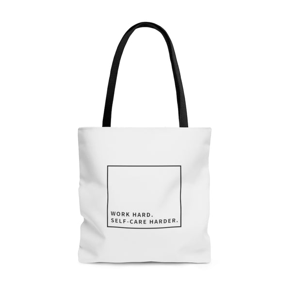 Work Hard Large Tote Bag