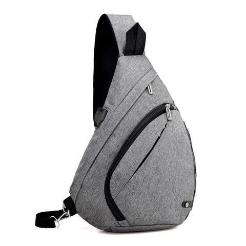 Anti-Theft USB Crossbody Travel Backpack - Rad Luxury Travels