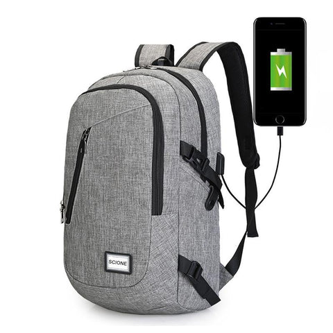 Canvas USB Travel Backpack - Rad Luxury Travels