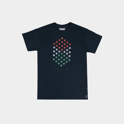 DIAMOND SPECKLES TSHIRT HEATHER GREY
