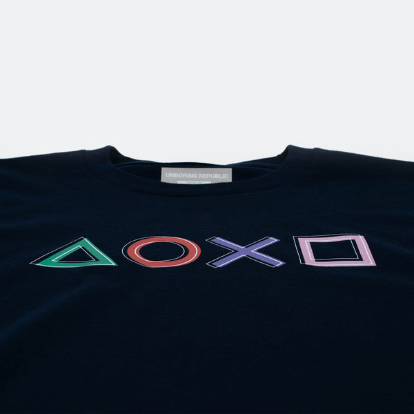 THE PLAYSTATION TSHIRT DARK BLUE