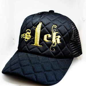 S1ck Diamond Mesh Black and Gold