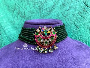 Navarathan beads necklace