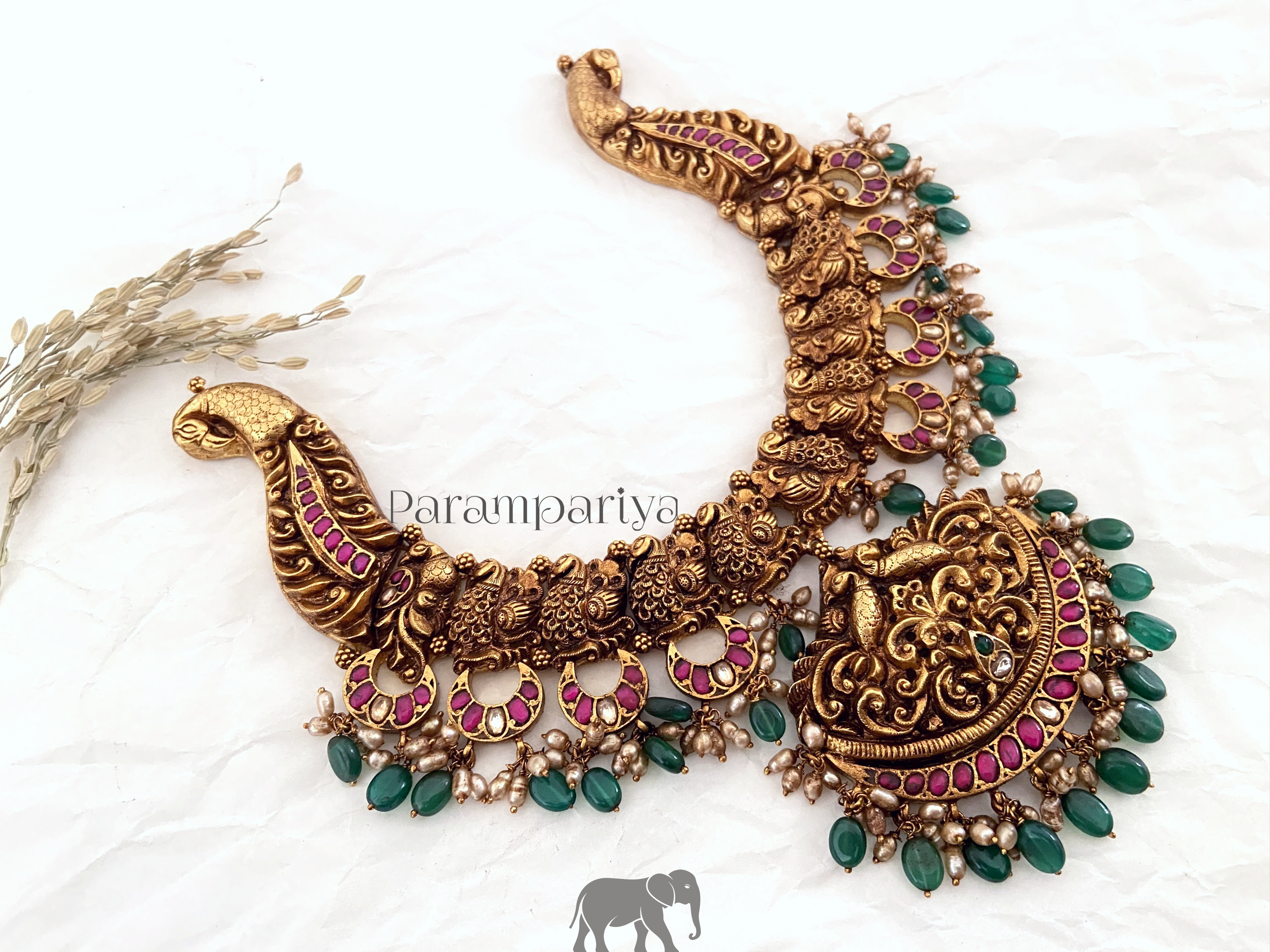Kundan Nagas/Nakshi necklace