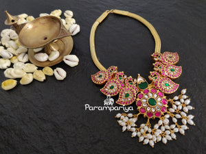 Kundan short necklace