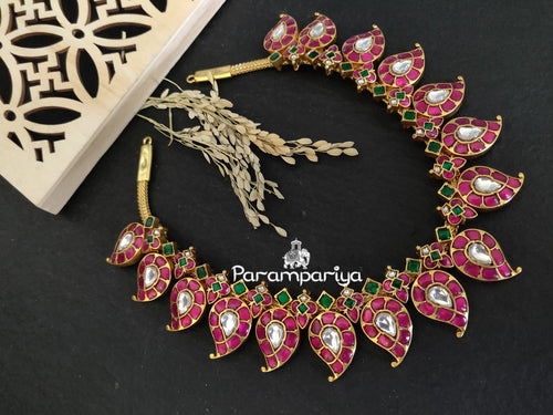 Kundan Paisely necklace