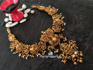 Margazhi series nakshi necklace