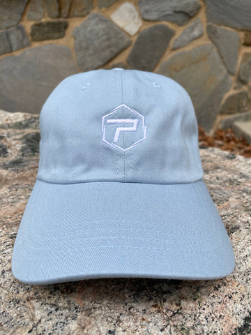 Essential Dad Hat - Baby Blue/White