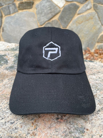 Essential Dad Hat - Black/White