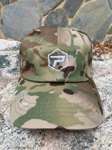 Essential Dad Hat - Camo/White