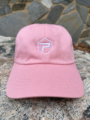 Essential Dad Hat - Pink/White