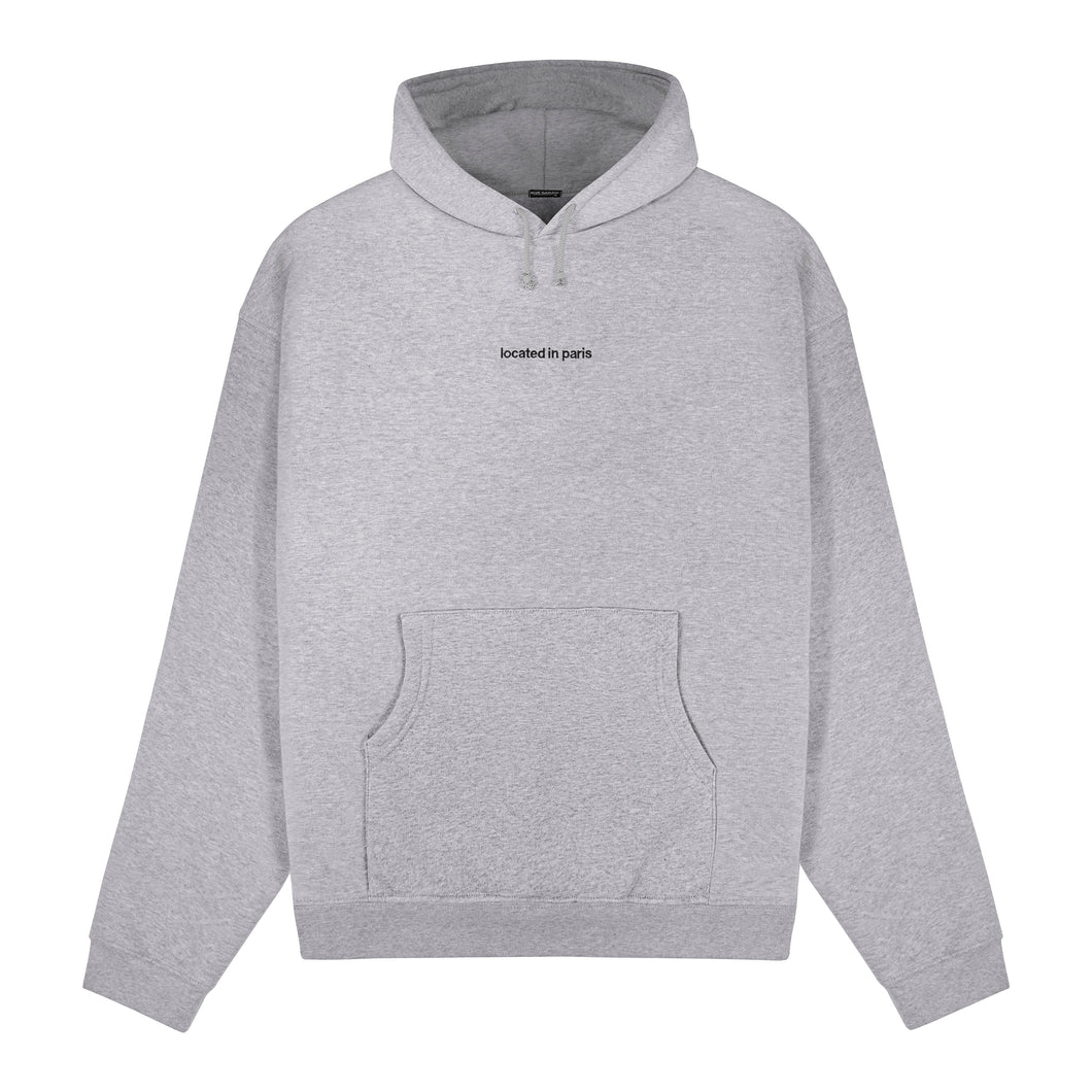 located hoodie