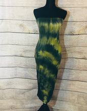 Tie Dye Sun Dress Green