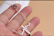 Heart Rhythm Echo Necklace