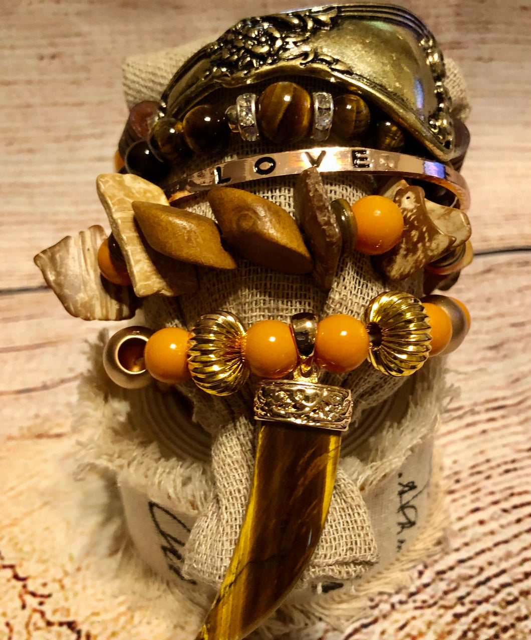 Ethnic Gold Stack