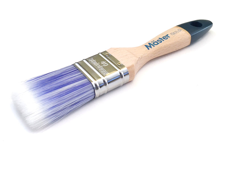 Master Flat Teflon Treated Brush Extra Thick (Gold)