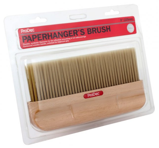 "ProDec 9"" SYNTHETIC PAPERHANGING BRUSH"