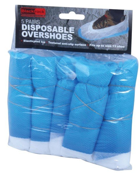 Blackrock 10pk Disposable Plastic Overshoes