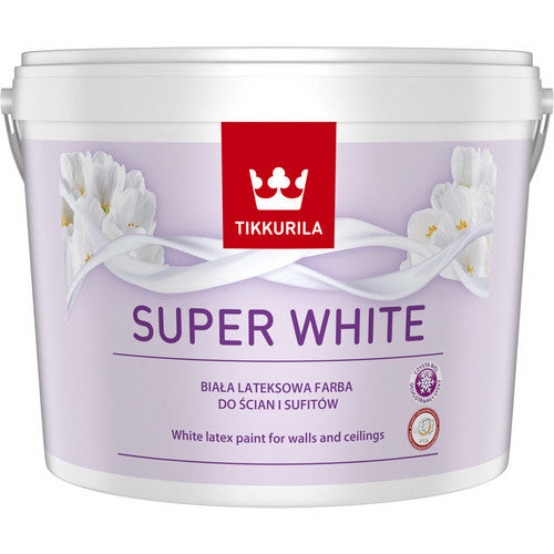 Super White - Latex Paint for Walls and Ceilings
