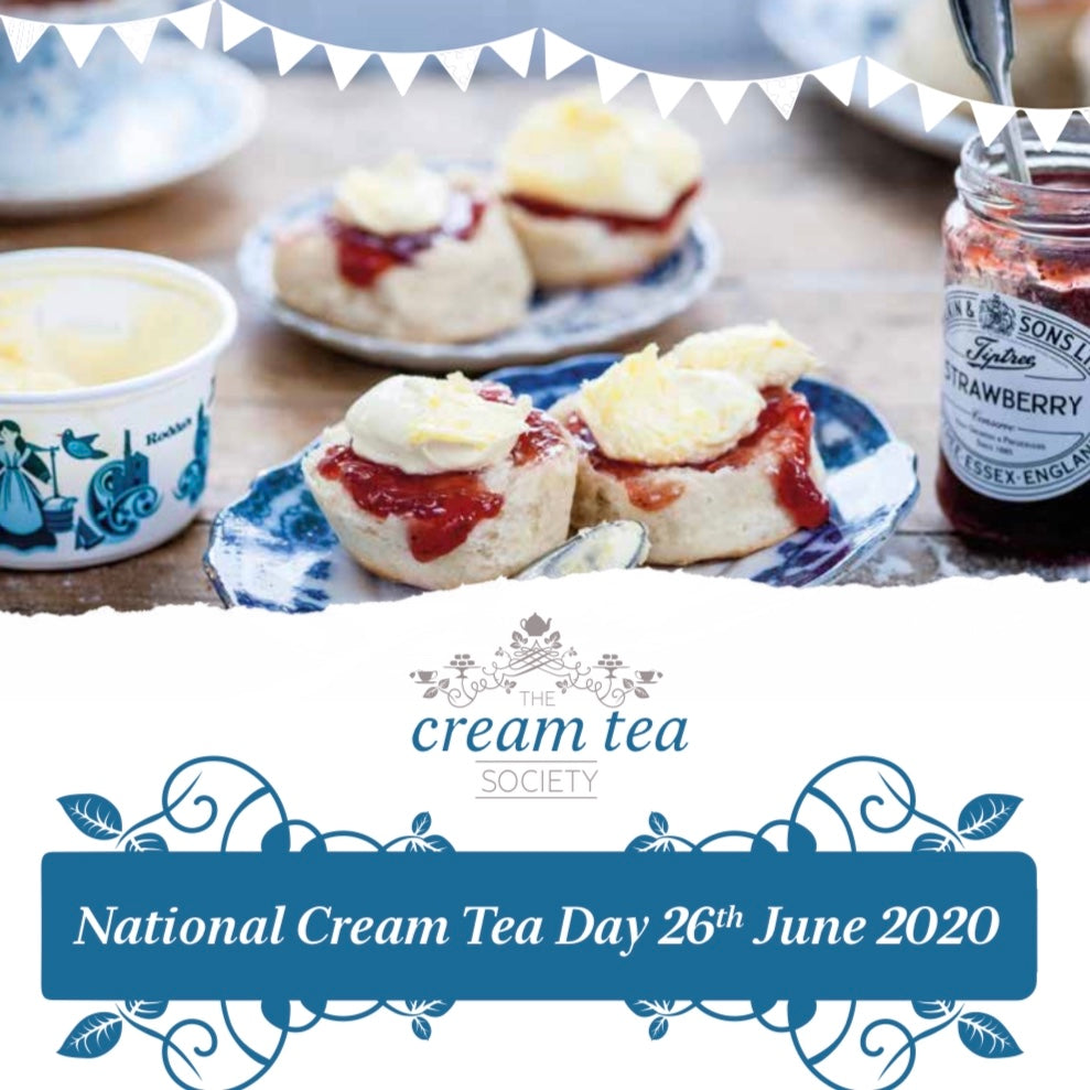 The Delights of a Cornish Cream Tea