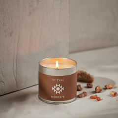 Meditate Scented Tin Candle
