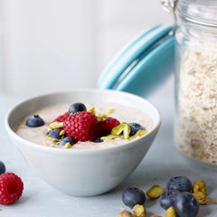 Jo Wicks Overnight Oats: image credit Maja Smend