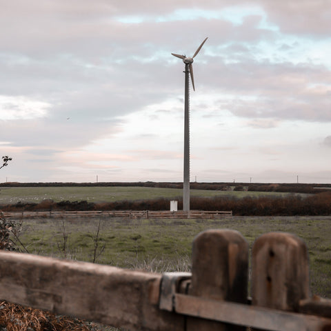 St Eval candle factory wind turbine