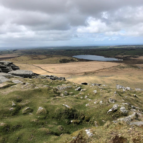 Rough Tor and Brown Willy moorland walk
