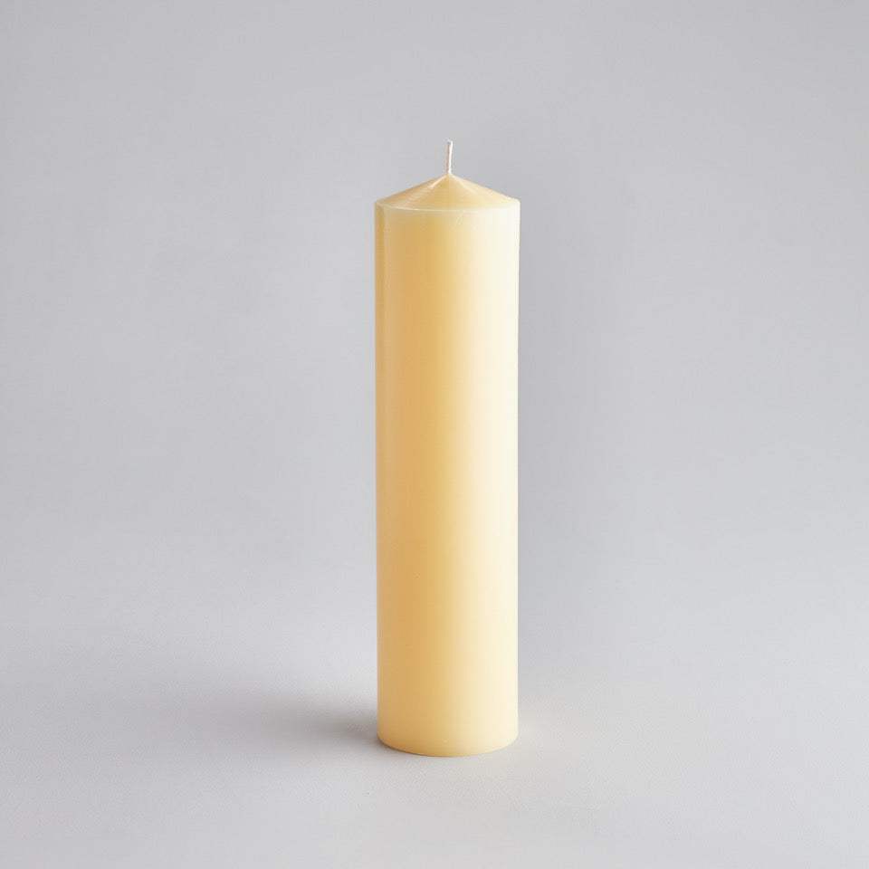 "Church Pillar Candle 3"" x 12"""
