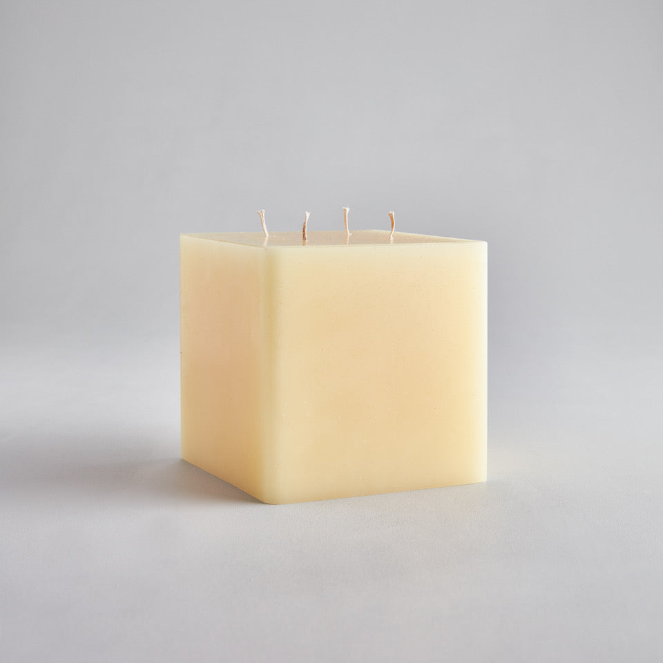 "Square Multiwick Candle 5""x5"""