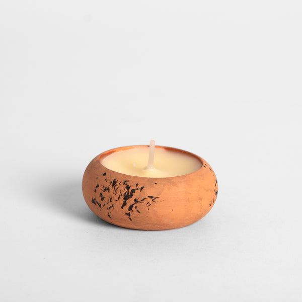 Bergamot & Nettle Scented Terracotta Tealight