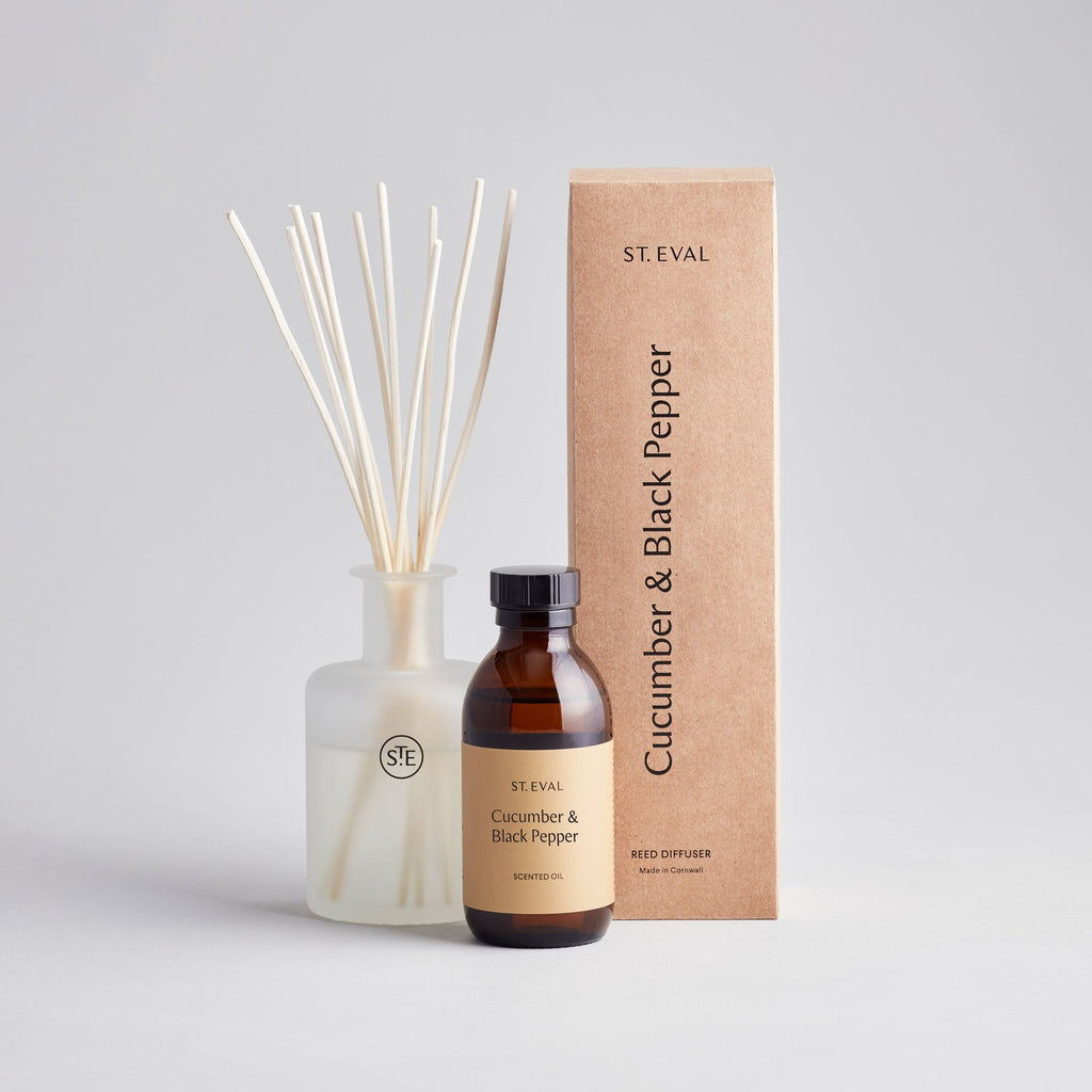 Cucumber & Black Pepper Reed Diffuser