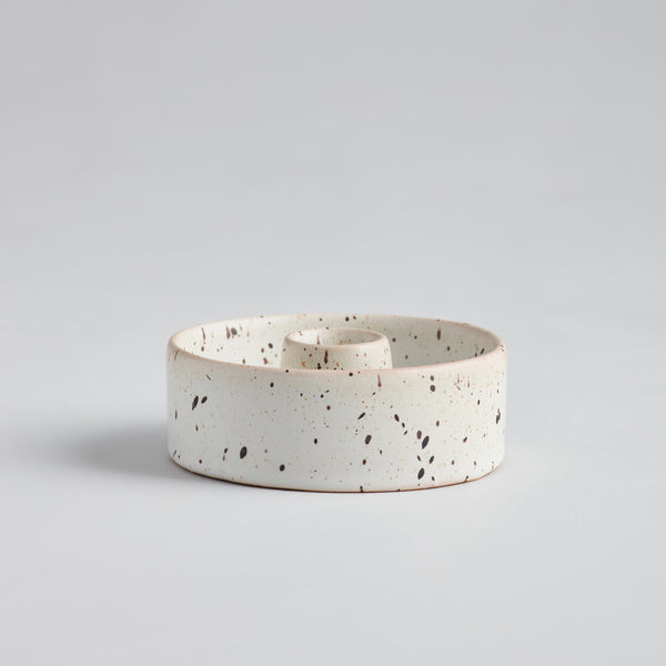 "Speckled 7/8"" Candle Holder"