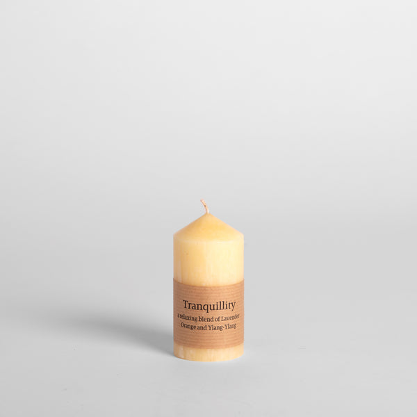 "Tranquility Scented 2""x4"" Pillar Candle"