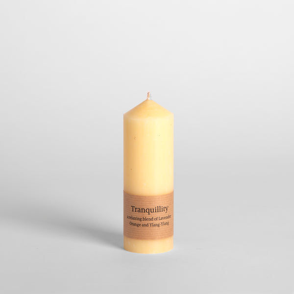 "Tranquillity Scented 2""x6"" Pillar Candle"