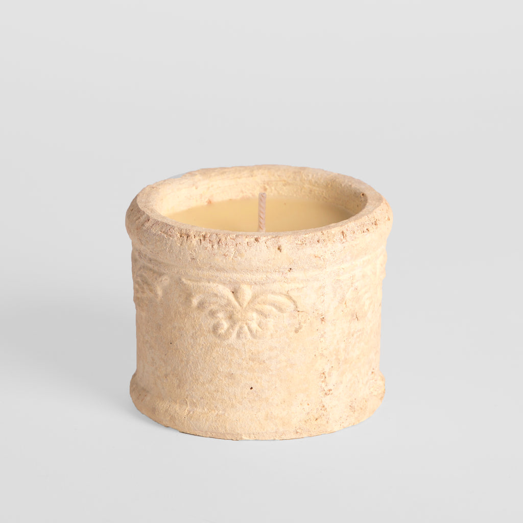 Baroque Sea Salt Scented Pot Candle
