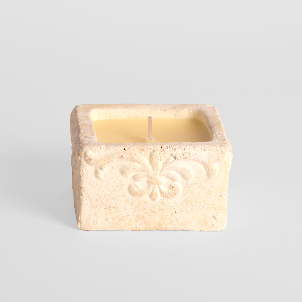 Baroque Sea Salt Scented Cube Candle