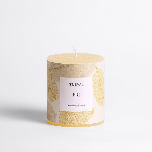 Fig, Eden Pillar Candle
