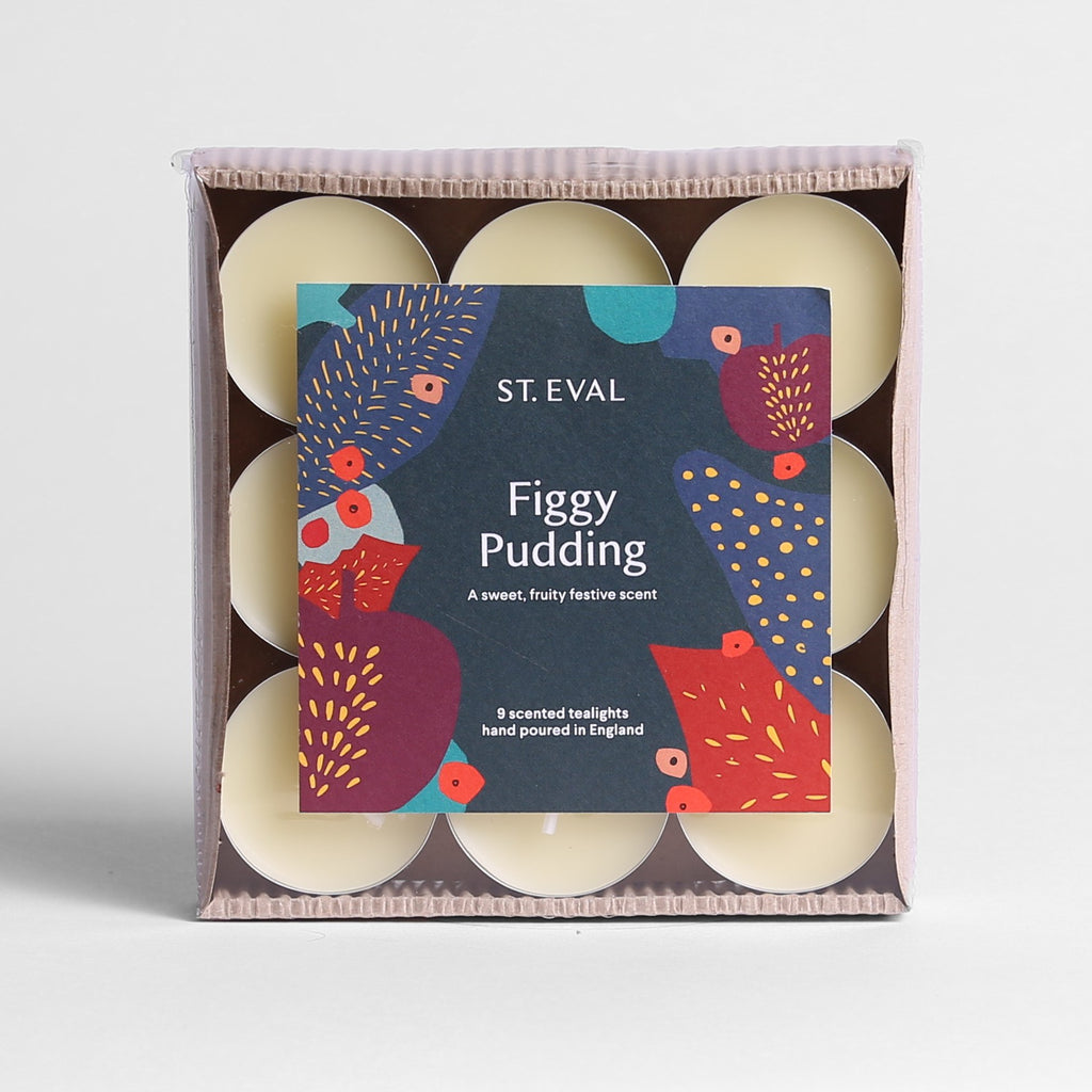 Figgy Pudding Scented Christmas Tealights