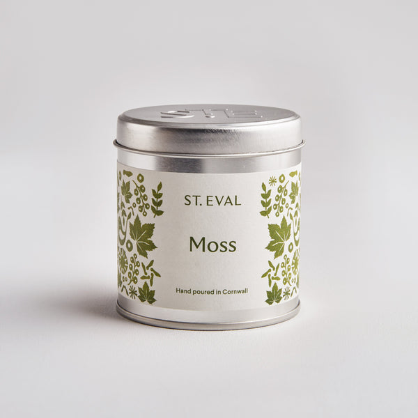Moss, Folk Scented Tin Candle