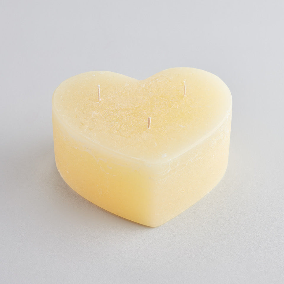 Heart Multiwick Candle Unfragranced