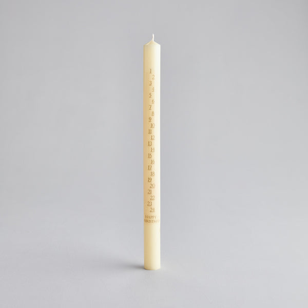 Ivory 7/8x12 Advent Candles