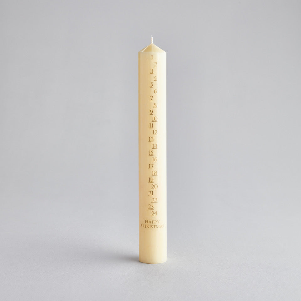 Ivory Large Advent Candles