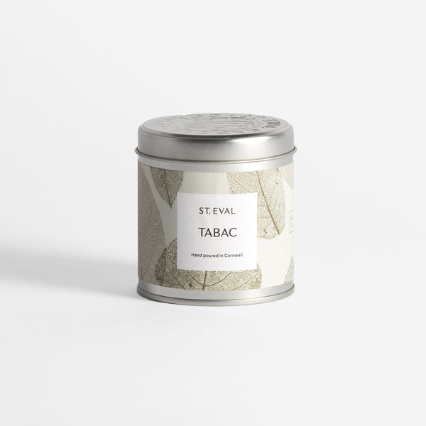 Tabac, Eden Scented Tin Candle