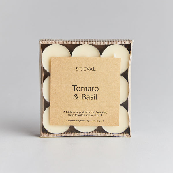 Tomato & Basil Scented Tealights