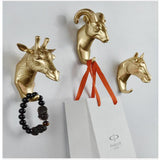 3D animal decorative hook and ornament