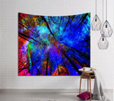 Home Decoration Galaxy Tapestry, Yoga Mat, Beach Mat