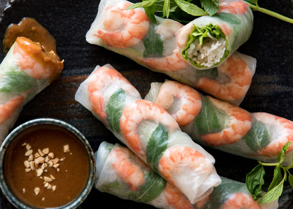 Individual Rice Paper Rolls