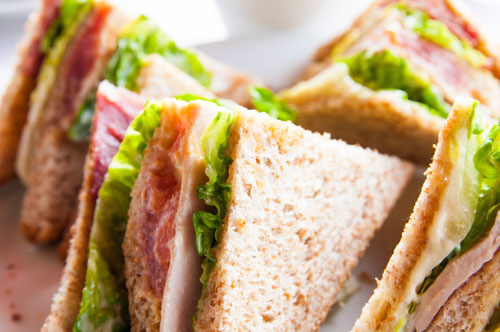 Individual Traditional Sandwiches