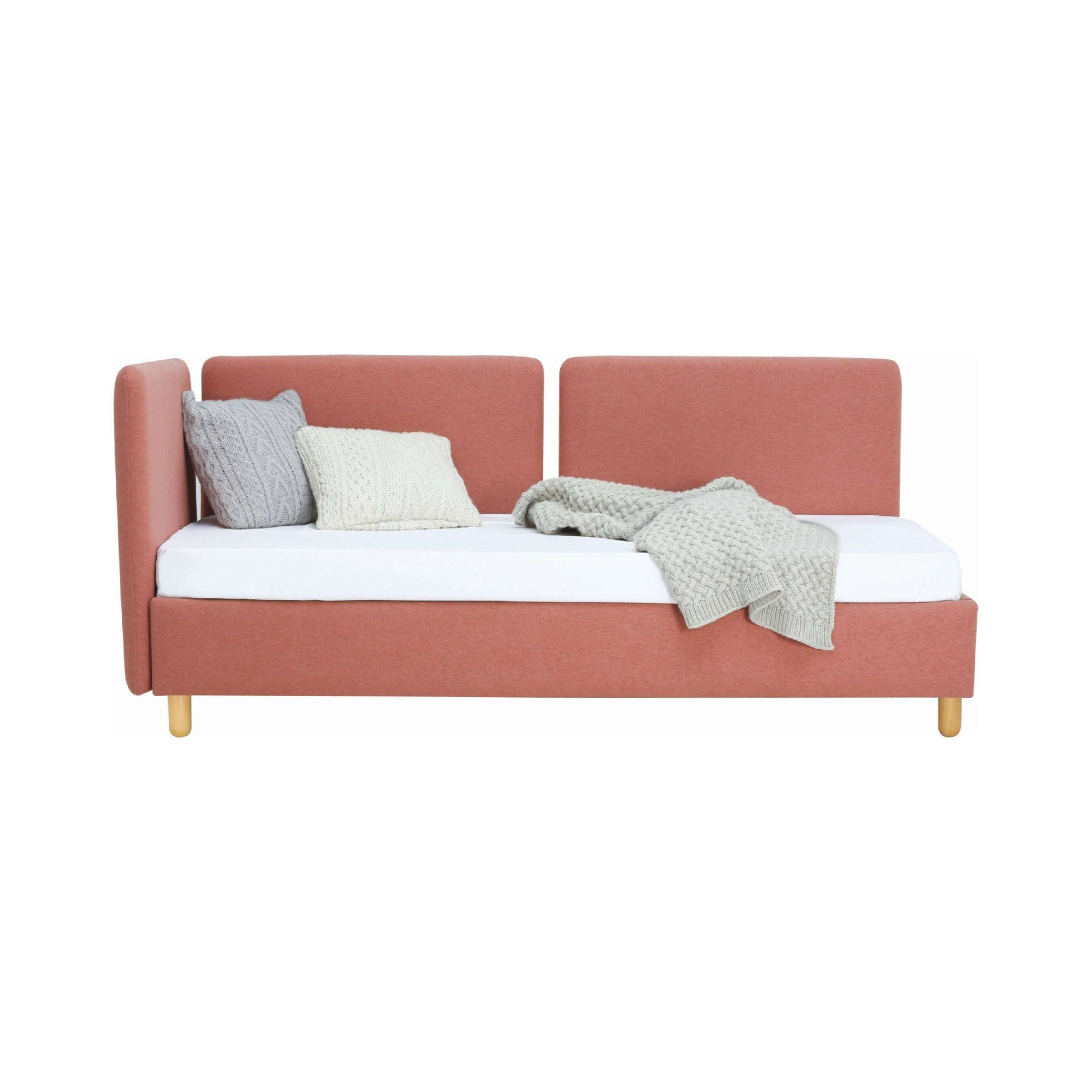Briska Daybed with Burnt Umber Colour Dimity Fabric